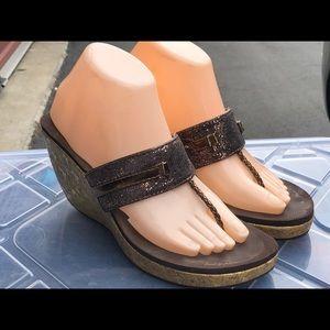 Baby Phat Women's Brown Platform sandals Size 9.5